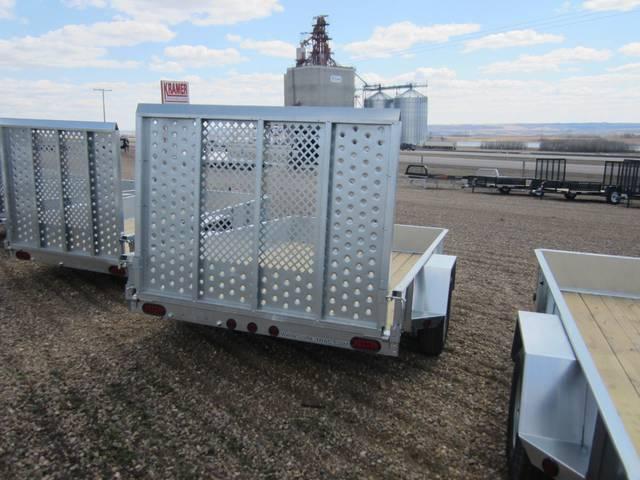 2014 Sure Trac St7210 6x10 Galvanized Landscape Utility