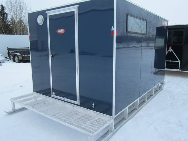 2015 Sno Pro 8 X 12 Aluminum Ice Fishing Shack Kramer