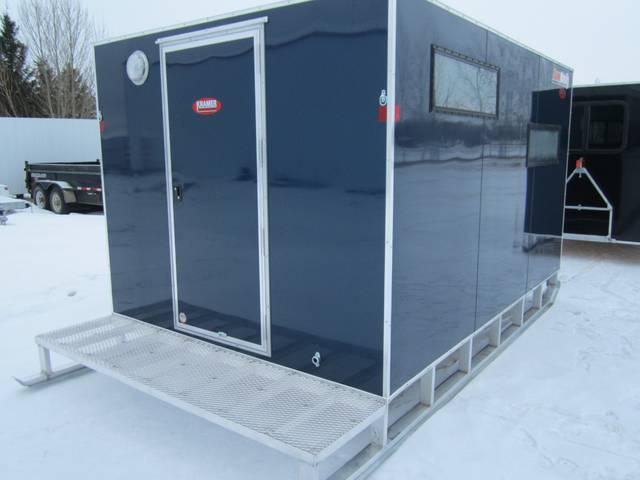 2015 Sno Pro 8 X 12 Aluminum Ice Fishing Shack Kramer