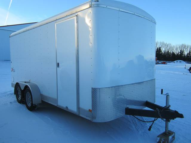 2009 Mirage Xtera 7x16 Enclosed Cargo 7k Kramer Trailer