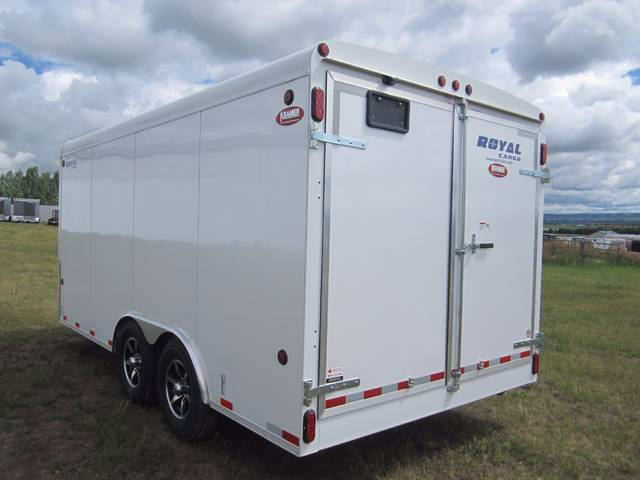 2016 Royal Cht60 8x16 Enclosed Cargo Trailer 14k Barn