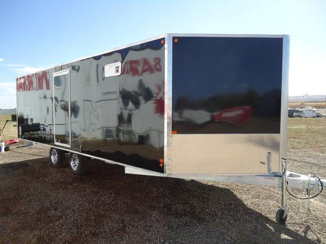 2012 Sno Pro 22 Enclosed Snowmobile Trailer Kramer