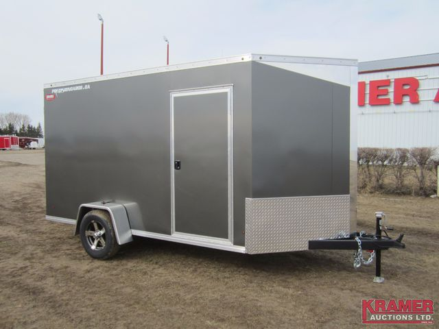 2016 Precision Cargo PC160612C 6x12 Enclosed Cargo Trailer - RAMP