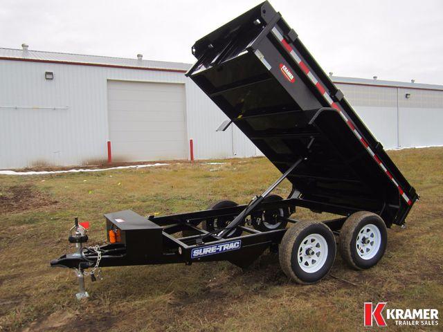 2017 Sure-Trac ST6210D 5'x10' Dump box (7K)- Kramer Trailer