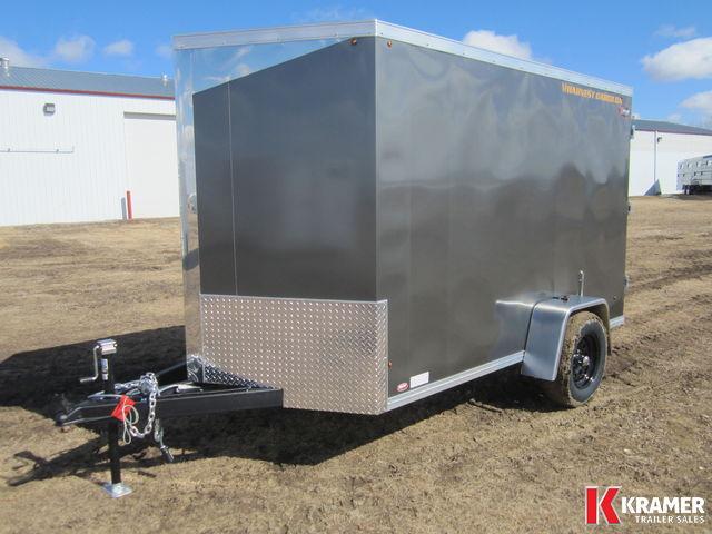 2017 Harvest Cargo HC0610C 6x10 Enclosed Cargo Trailer - BARN