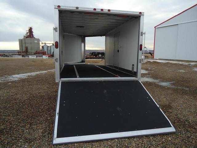 2012 Sno Pro 3 Place Enclosed Snowmobile Trailer Kramer