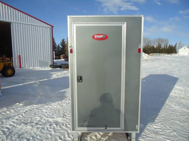 2012 Sno Pro 4 X 6 Ice Fishing Shack Slight Damage In Wind