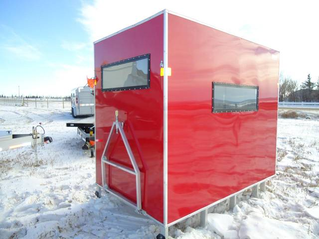poly ice fishing shacks wisconsin