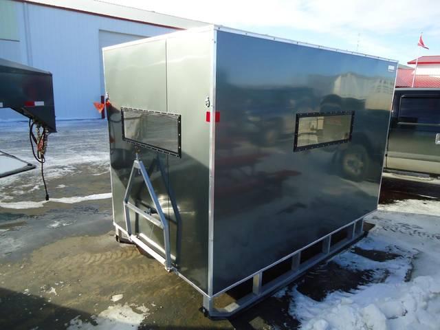 Used Car Haulers For Sale >> 2012 Sno Pro 6 x 10 Ice Fishing Shack- Kramer Trailer Sales