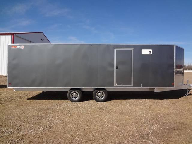 2012 Sno Pro E6 5x26 Enclosed Snowmobile Trailer Kramer