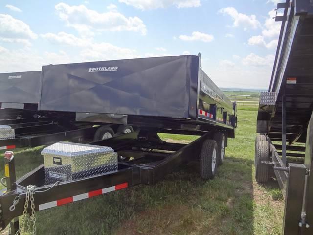 2013 Southland Sl270t 14 Hb Side Load Dump Box Kramer