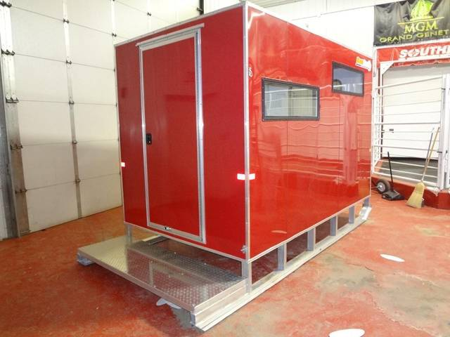 2013 Sno Pro 6 X 10 Ice Fishing Shack Kramer Trailer Sales