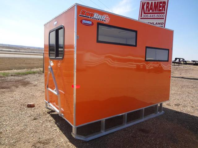 2013 sno pro 6 x 10 ice fishing shack kramer trailer sales for Fish house frames manufacturers