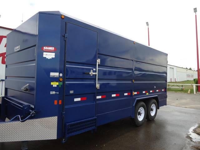 2013 Norbert S Mfg 18 Enclosed Cargo Trailer Kramer