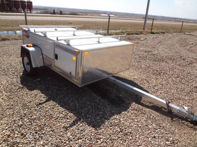 2013 Cargo Pro 5x8 Enclosed Utility Trailer Low Profile